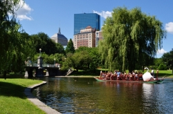 Fraai stadspark, de Boston Common